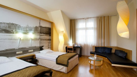 Falkensteiner Hotel Maria Prag Praha - Double room Deluxe